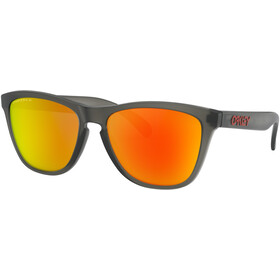 Oakley Frogskins Okulary przeciwsłoneczne, matte grey/smoke prizm/ruby polarized